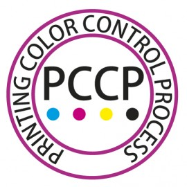 Label de certification PCCP  ( printing color control process )